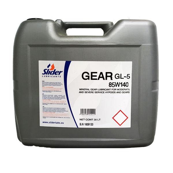 Ulei transmisie Slider GEAR GL-5 85W140 - 20L 0
