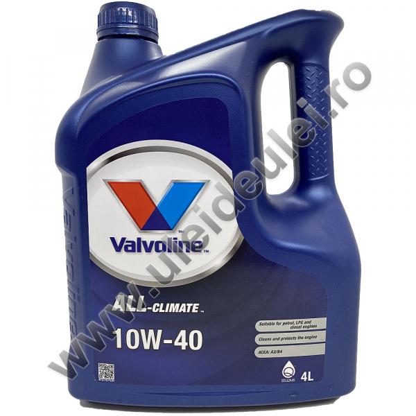 Valvoline All Climate 10W40 - 4 Litri [0]