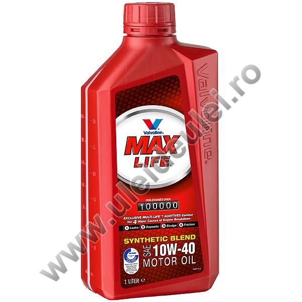 Valvoline Max Life 10W40 - 1 Litru 0