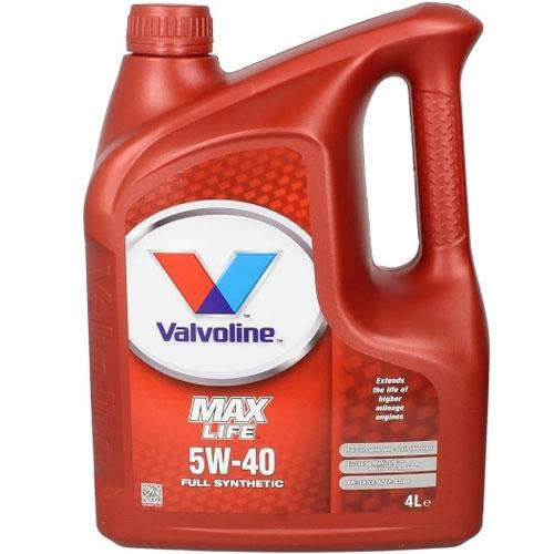 Valvoline Max Life 5W40 - 4 Litri 0