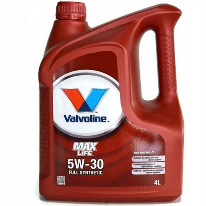 Valvoline Max Life C3 5W30 - 4 Litri 0