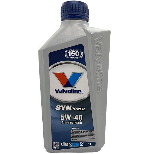 Valvoline SynPower MST C3 5W40 - 1 Litru 0