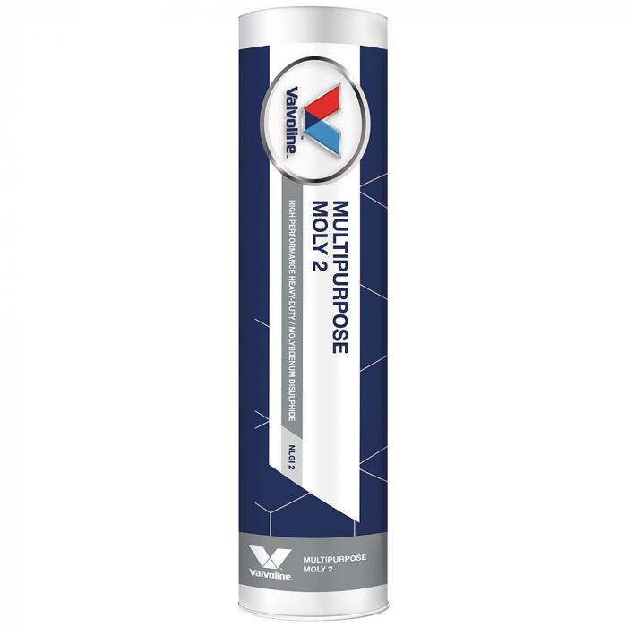 Vaselina cu bisulfura de molibden Valvoline Multipurpose MOLY 2 - 400 gr [0]
