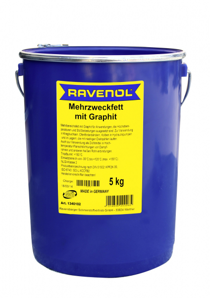 Vaselina grafitata Ravenol - 5 KG 0