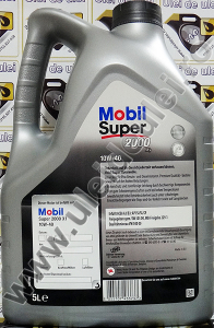 Mobil Super 2000 10W40 - 5 Litri1