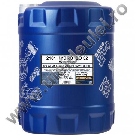 Ulei hidraulic MANNOL Hydro ISO 32 - 20 Litri [1]