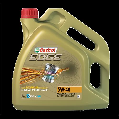 castrol edge 5w 40 0