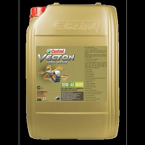 castrol vecton long drain 10w 40 e6 e9 0