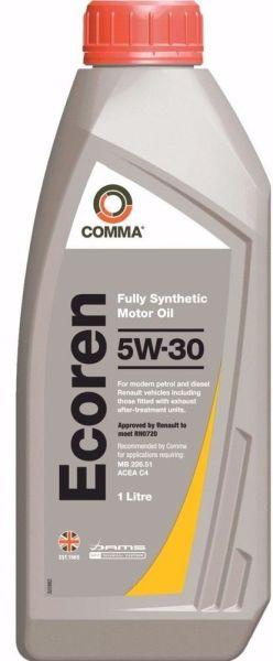 COMMA ECOREN 5W30 SYNT. 1L 0