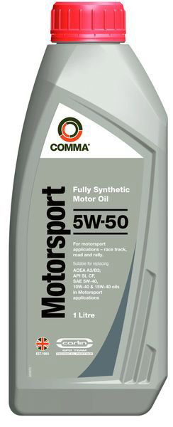COMMA MOTORSPORT 5W50 1L 0