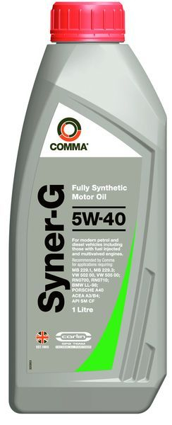 COMMA SYNER-G 5W40 1L [0]