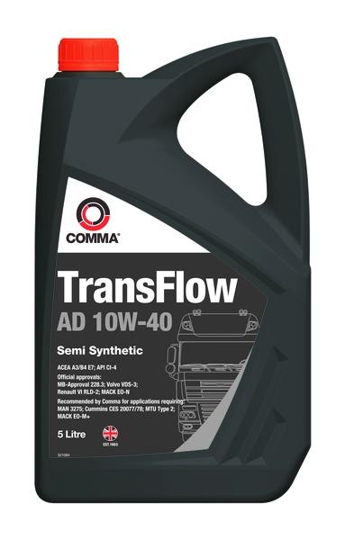 COMMA TRANSFLOW AD 10W40 5L 0