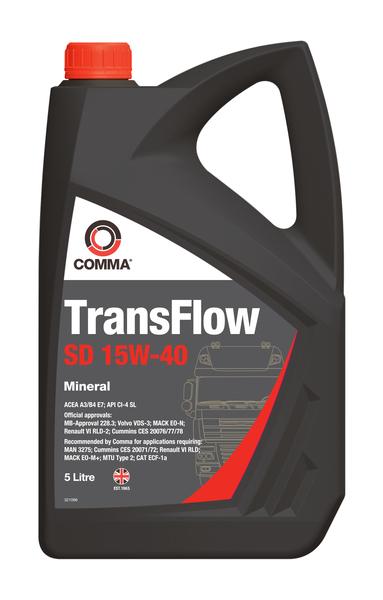 COMMA TRANSFLOW SD 15W40 5L 0