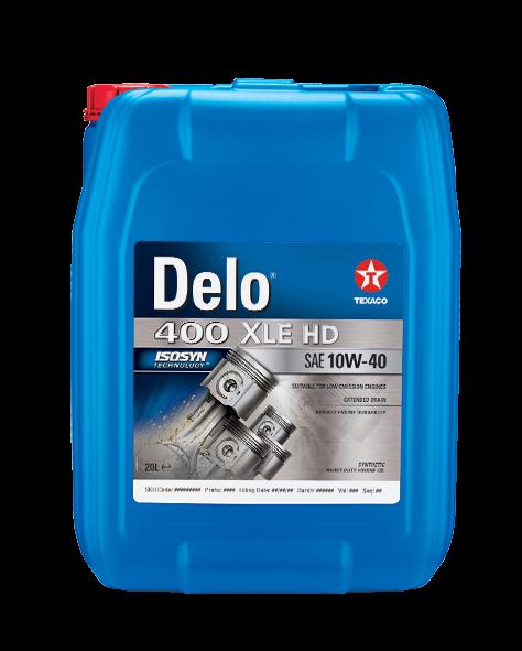 Delo 400 XLE HD SAE 10W-40 0