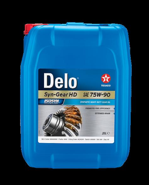 Delo Syn-Gear HD SAE 75W-90 0