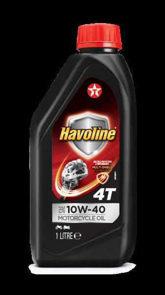 Havoline 4T Motorcycle Oil SAE 10W-40 0