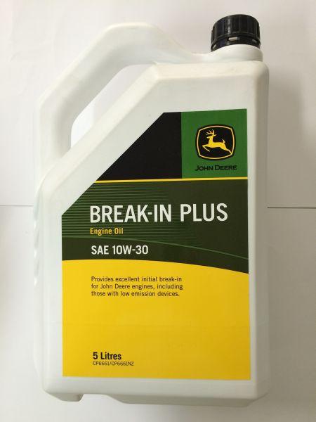 JOHN DEERE BREAK-IN PLUS 10W30 5L 0