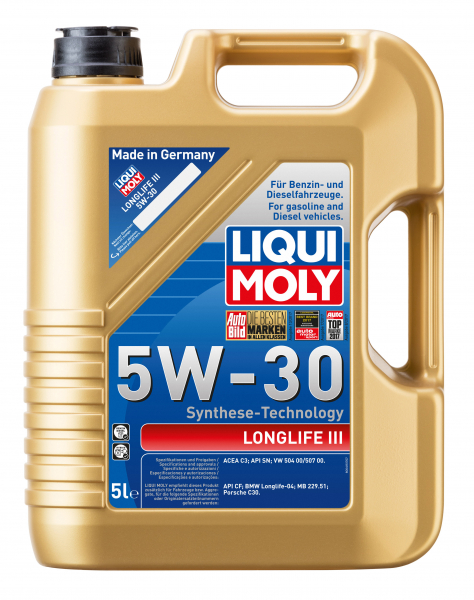Liqui Moly Longlife III 5W30 0