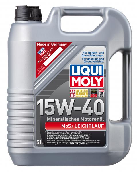 Liqui Moly Leichtlauf cu MoS2 15W40 0