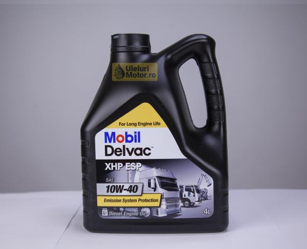 Mobil Delvac Xhp Esp 10W40 0