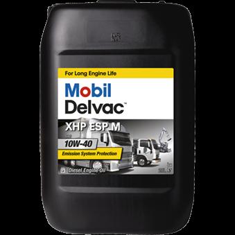 Mobil Delvac Xhp Esp M 10W40 0