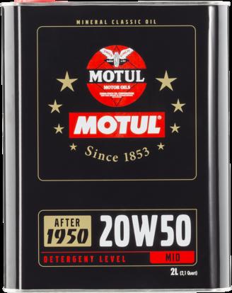 MOTUL 20W50 Classic 1950-1970 0