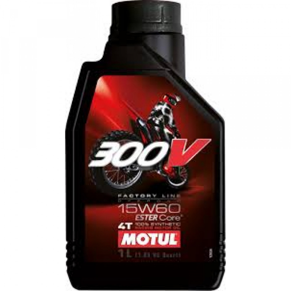 MOTUL 300V 4T Factory Line 15W60 Off Road 0