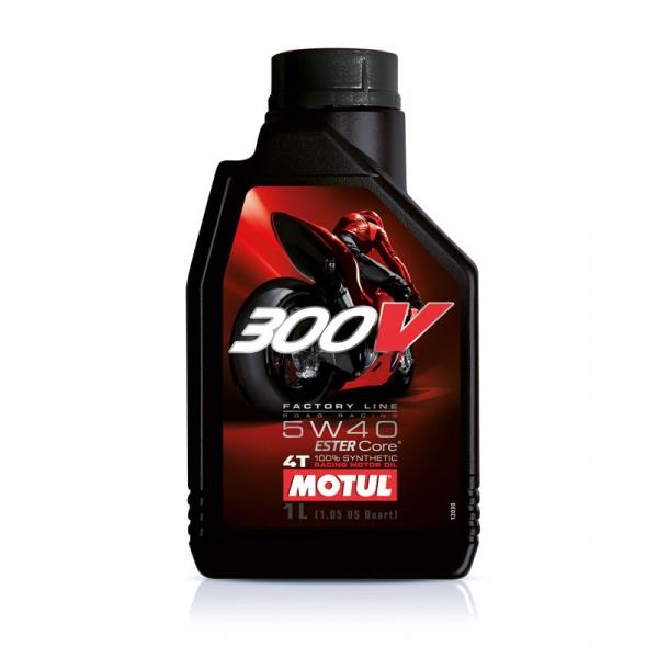 MOTUL 300V 4T Factory Line 5W40 0