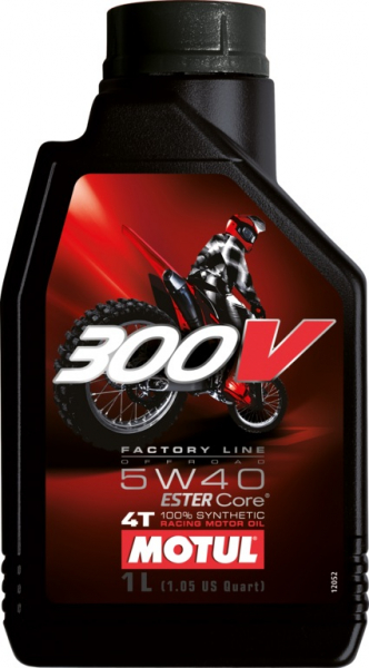 MOTUL 300V 4T Factory Line 5W40 Off Road 0