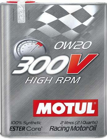 MOTUL 300V High RPM 0W20 0