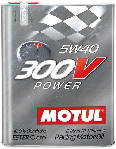 MOTUL 300V Power 5W40 0