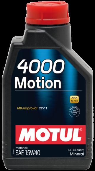 MOTUL 4000 Motion 15W40 0