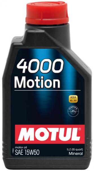 MOTUL 4000 Motion 15W50 0