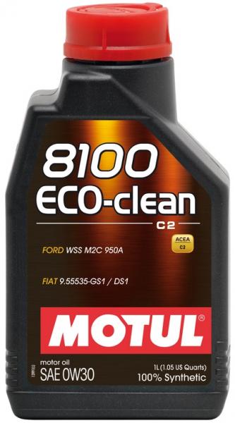 MOTUL 8100 Eco-clean 0W30 0