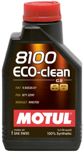 MOTUL 8100 Eco-clean 5W30 0