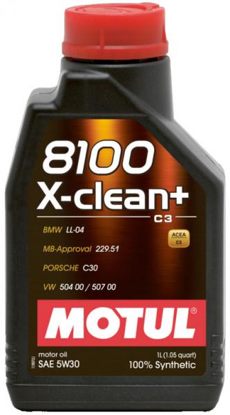MOTUL 8100 X-clean+ 5W30 0