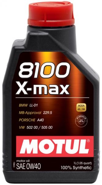 MOTUL 8100 X-max 0W40 0