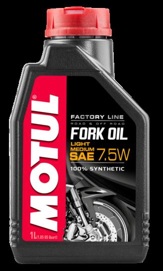 MOTUL Fork Oil Factory Line Light / Medium 7.5W 0