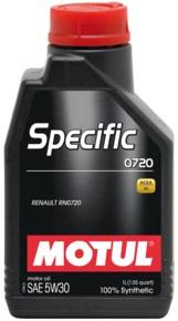 MOTUL Specific 0720 5W30 0