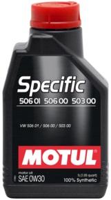 MOTUL Specific 506.01 506.00 503.00 0W30 0