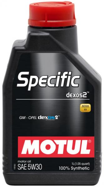 MOTUL Specific dexos2 5W30 0