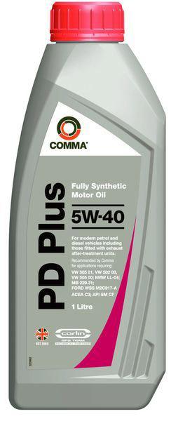 COMMA PD PLUS 5W40 1L 0