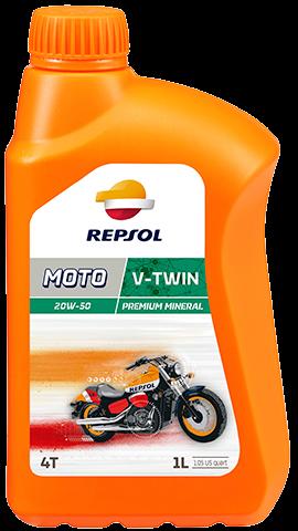 Repsol Moto V-Twin 4T 20W50 0