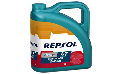 Repsol Nautico Diesel Board 4T 15W40 0