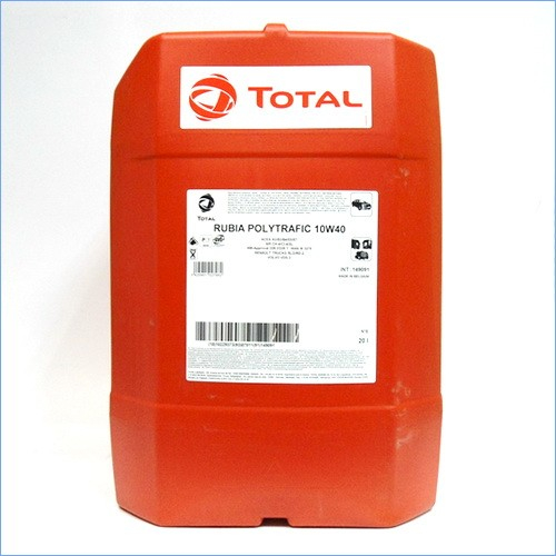 Total Rubia Polytraf 10W40 20L 0