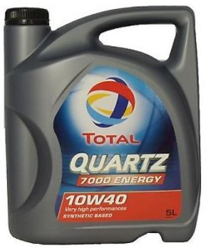 TOTAL QUARTZ 7000 ENERGY 10W40 5 L 0