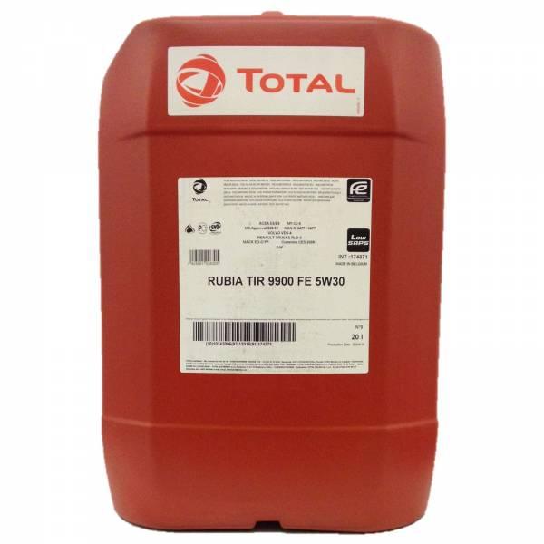 Total Rubia 9900 Fe 5W30 20L 0