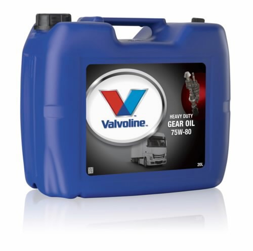 VALVOLINE HD GEAR OIL 75W-80 0