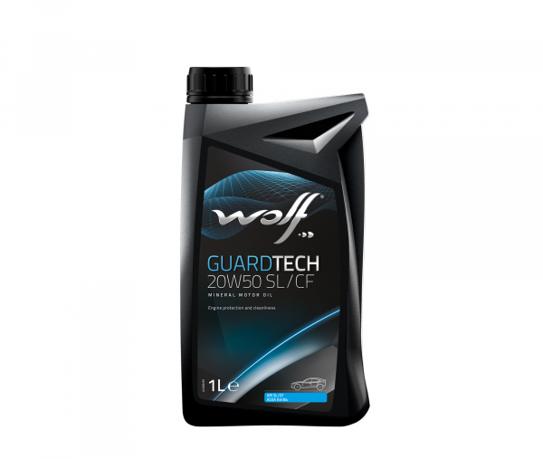 WOLF GUARDTECH 20W50 SL/CF 1L 0