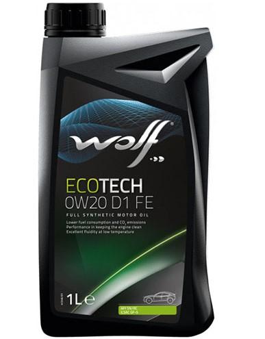 WOLF OFFICIALTECH 0W20 FE 1L 0